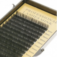 RZĘSY PROFESSIONAL MINK LASHES C 0,1 12mm